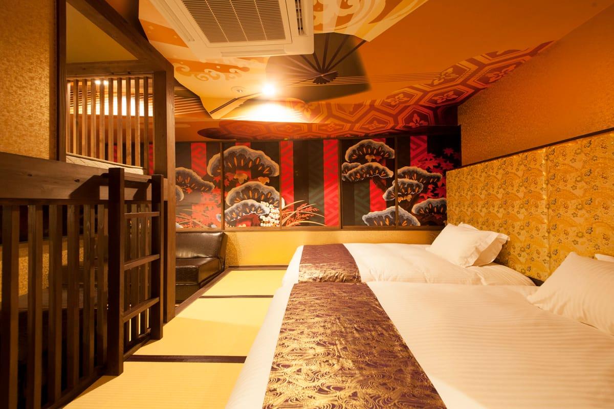 センチュリオンホテル上野 / 〔本館〕【禁煙】和スイート 侍/歌舞伎 《1-5名様》
