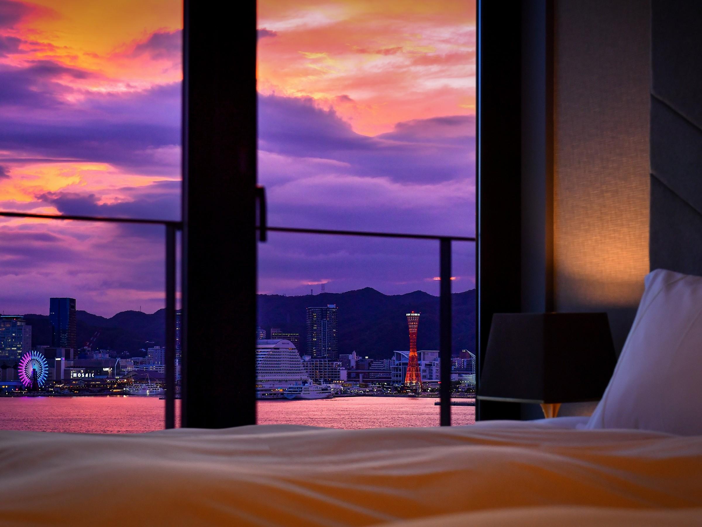センチュリオンホテルヴィンテージ神戸 【全室禁煙】エグゼクティブキングハーバービュー《1-4名様》
