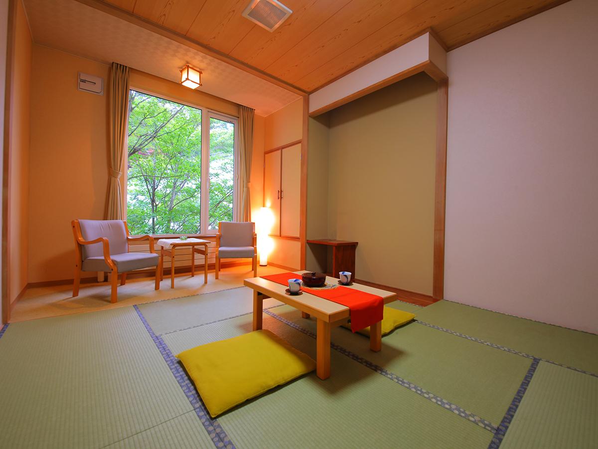 森の湯 山静館 / 【-和室8畳<禁煙>-】
