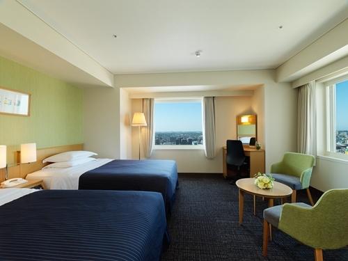 ホテルエミシア札幌 / 【禁煙】スタンダードコーナーツイン(6階以上・24~29平米)