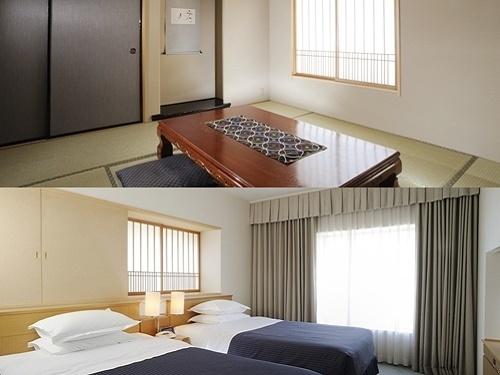 ホテルエミシア札幌 / 【禁煙】和洋室(48~52平米)◇5階◇7.5畳の和室+洋室