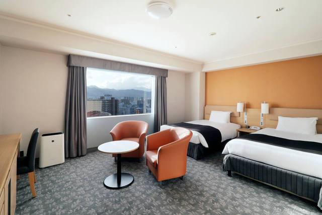 札幌エクセルホテル東急 / スタンダードツイン【スタンダードビュー】◆喫煙◆30㎡