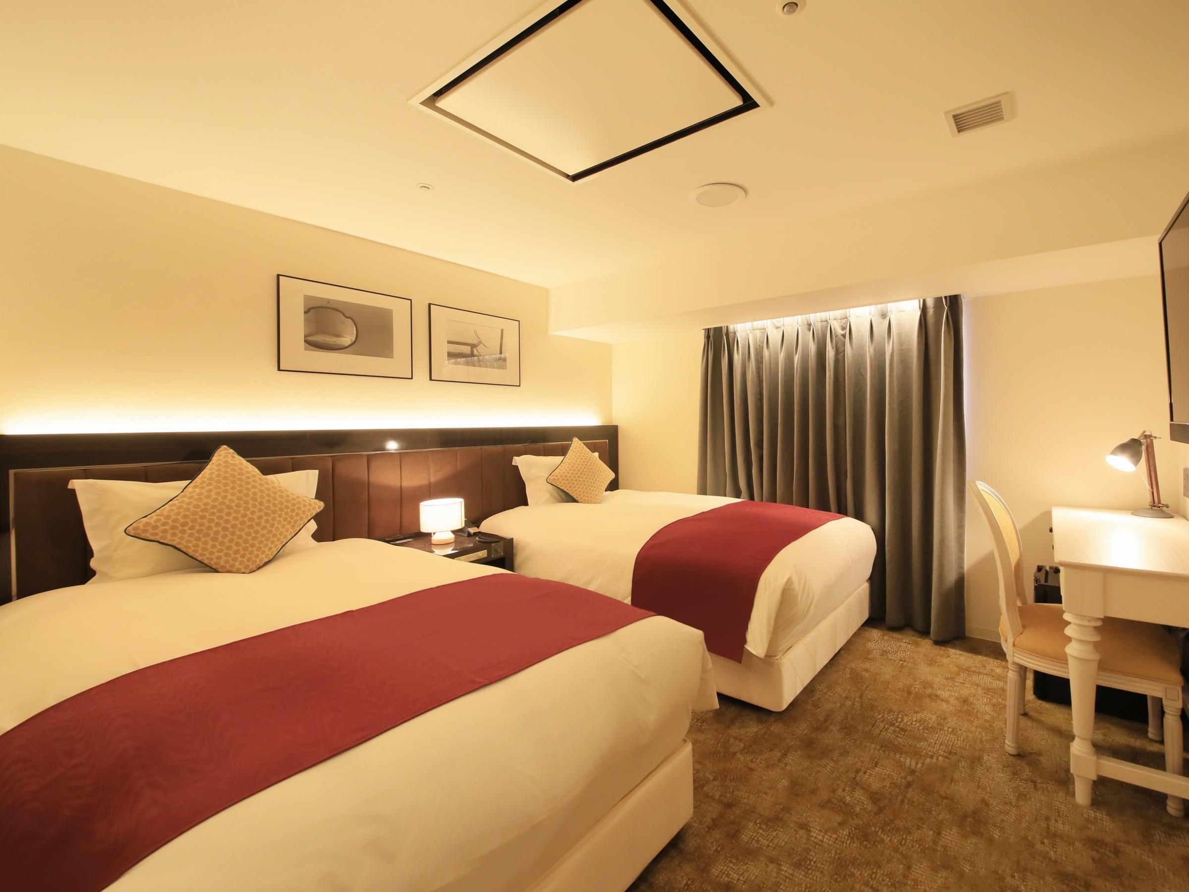 センチュリオンホテル札幌 / ◆全室禁煙◆スタンダードツイン 《1-2名様》