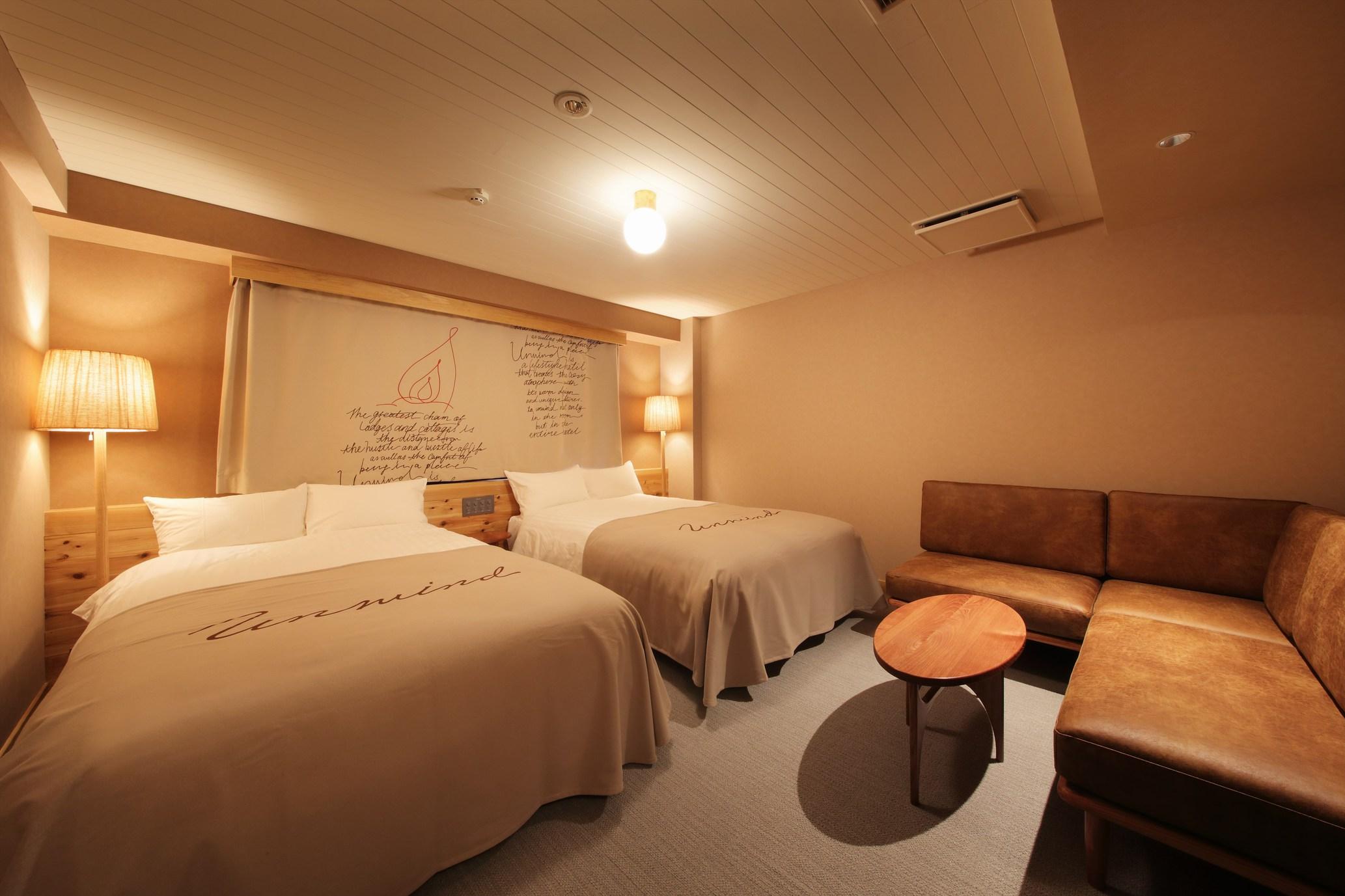 UNWIND HOTEL&BAR / ツインルーム