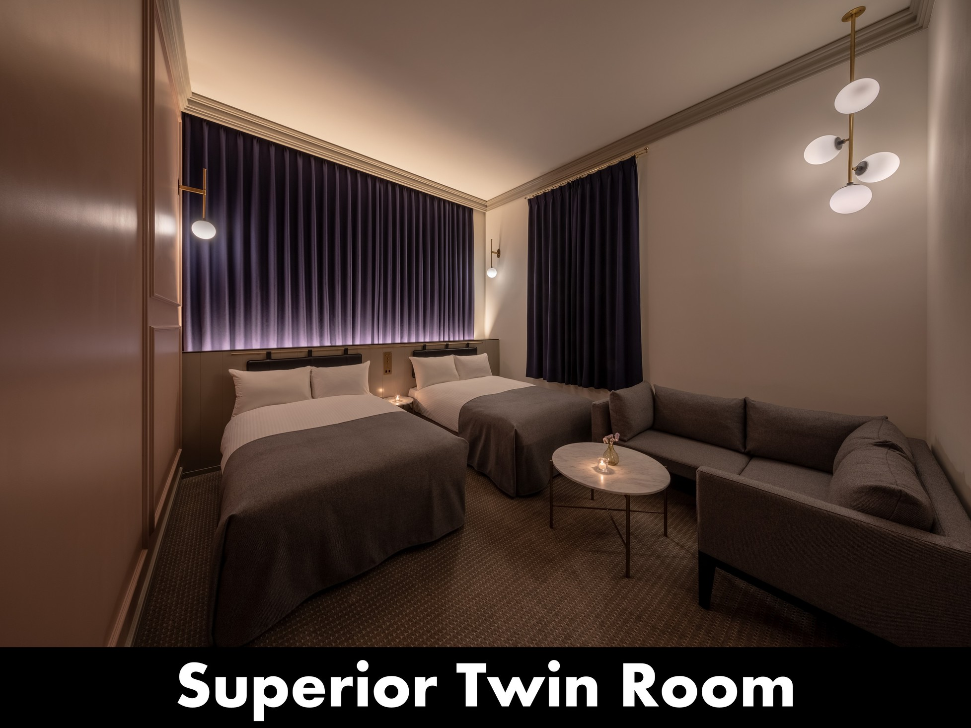 UNWIND HOTEL&BAR小樽 / スーペリアツイン