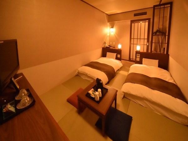 天然温泉 灯の湯 ドーミーインPREMIUM小樽 / □禁煙□最上階10階確約☆☆和風ツインルーム