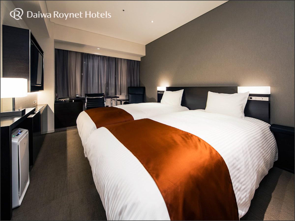 ダイワロイネットホテル銀座 / ◆スタンダードツイン 喫煙 1名様利用◆