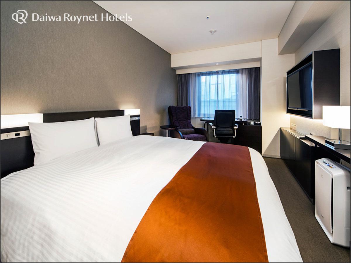 ダイワロイネットホテル銀座 / ◆デラックスダブルルーム 喫煙 1名様利用◆