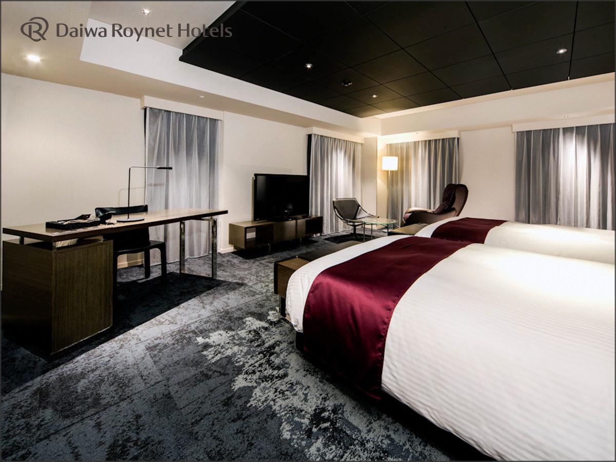 ダイワロイネットホテル銀座 / ◆ジュニアスイートツインルーム【禁煙】◆