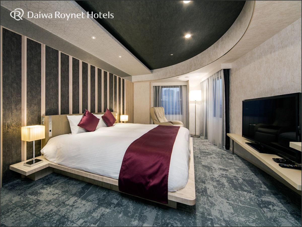 ダイワロイネットホテル銀座 / ◆ジュニアスイートダブルルーム【禁煙】◆