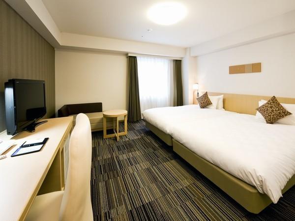 ダイワロイネットホテル大阪上本町 / ◆喫煙◆ハリウッドツインルーム(28.6平米)