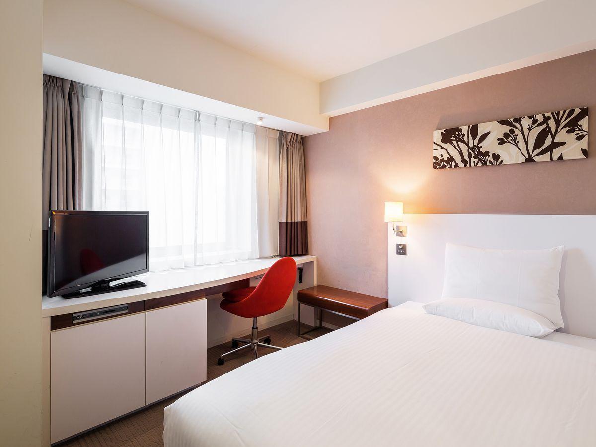 ホテルマイステイズ札幌駅北口 / ◆喫煙◆コンフォートシングル◆15平米/ベッド幅130cm