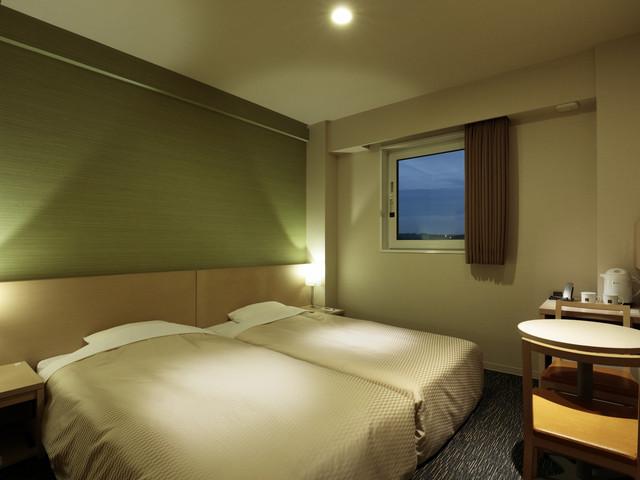 カンデオホテルズ 静岡島田 / ツイン15平米/喫煙/ハリウッドツインタイプでゆったり添い寝