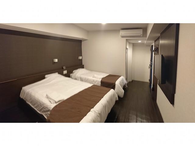 ホテルグランビュー福岡空港 禁煙ツインルーム(シングルユース)
