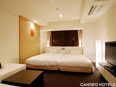 カンデオホテルズ ザ・博多テラス / スーペリアツイン(シティビュー) 29平米 【禁煙】