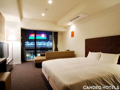 カンデオホテルズ ザ・博多テラス / リバーサイドデラックス 30平米 3F~5F 【禁煙】 シャワーのみ
