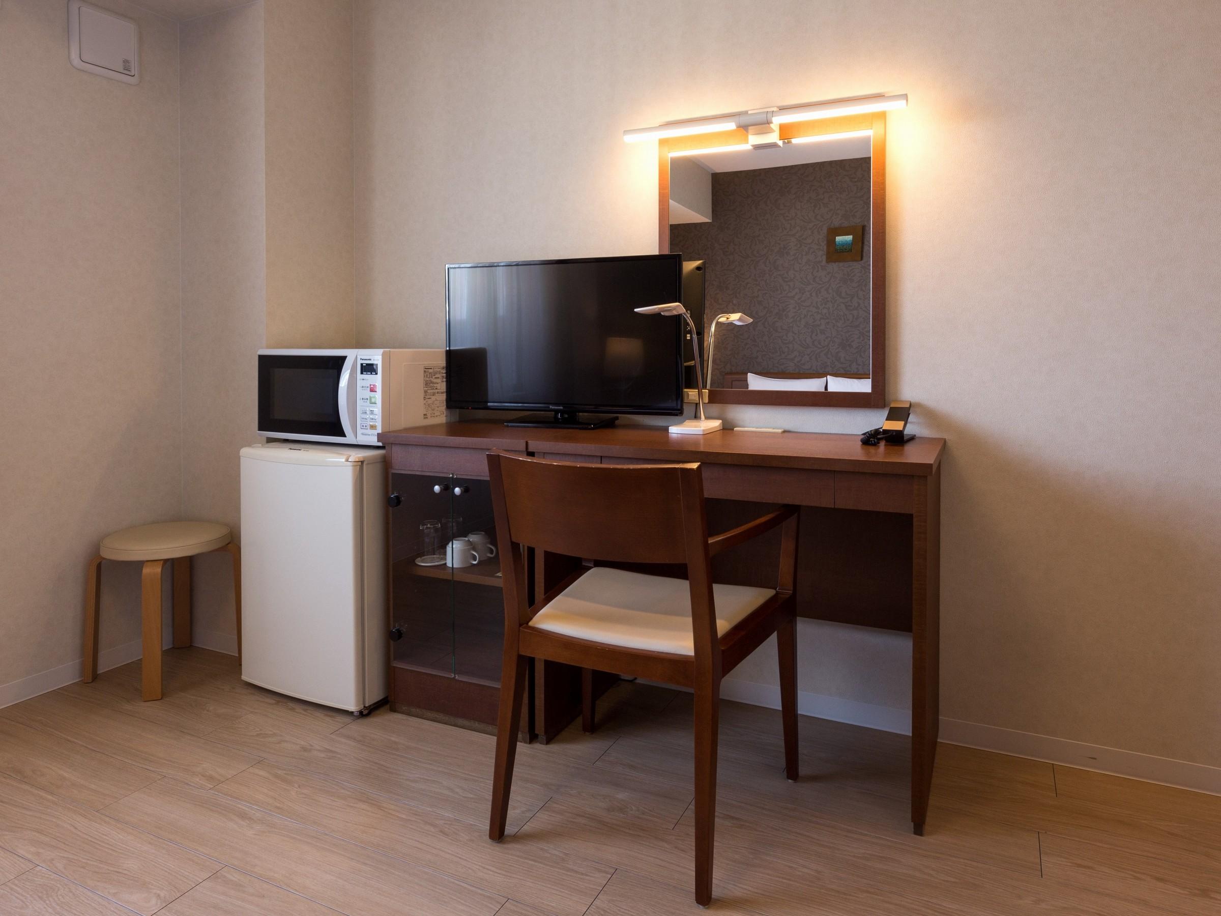ホテル博多プレイス / 【洗濯機付】【ベッド幅120】■シングルルーム25㎡:1名利用(喫煙)