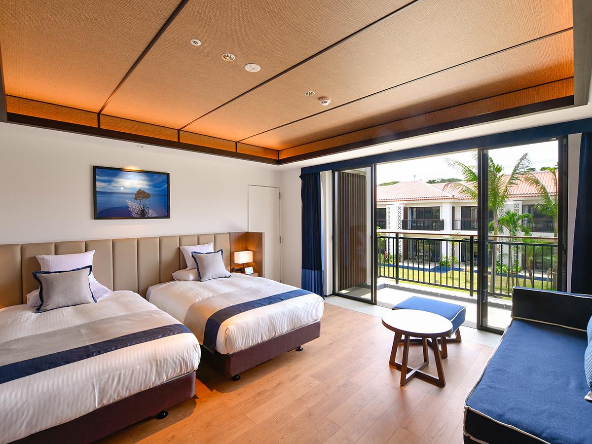フサキビーチリゾート ホテル&ヴィラズ / ノースウイング スーペリアツイン【禁煙】