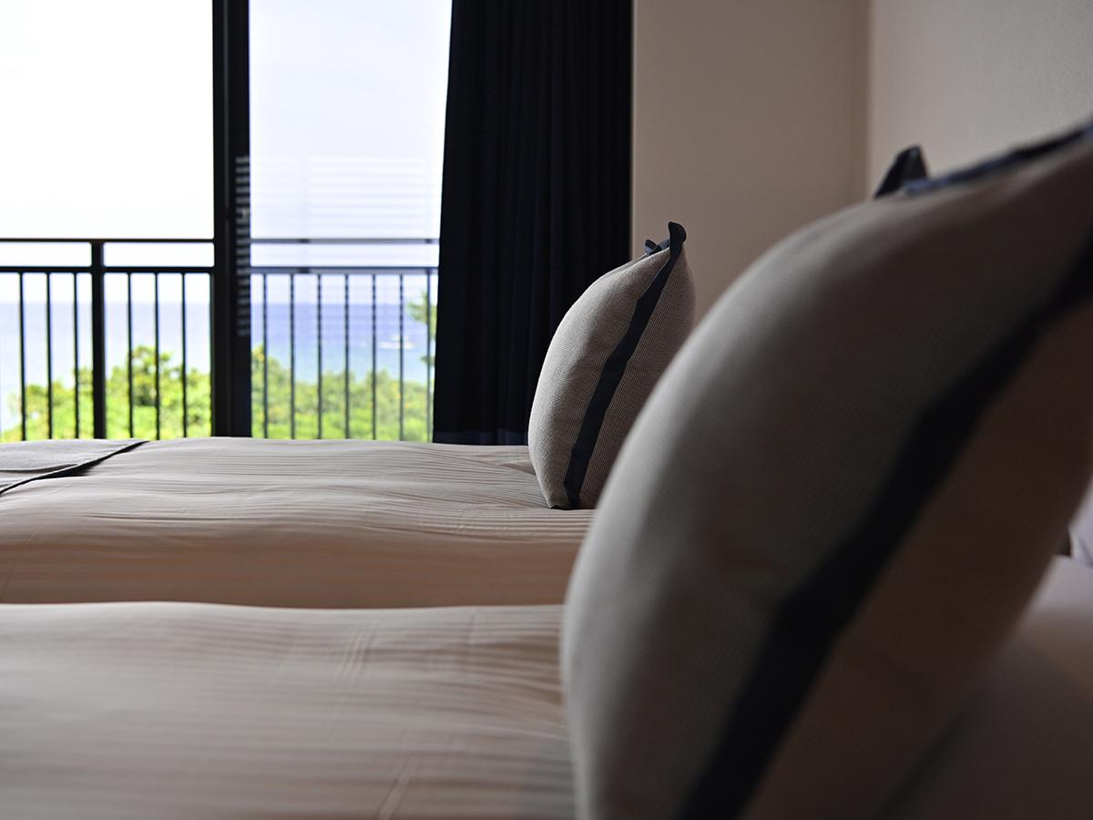 フサキビーチリゾート ホテル&ヴィラズ / ノースウイング オーシャンビューツイン【禁煙】