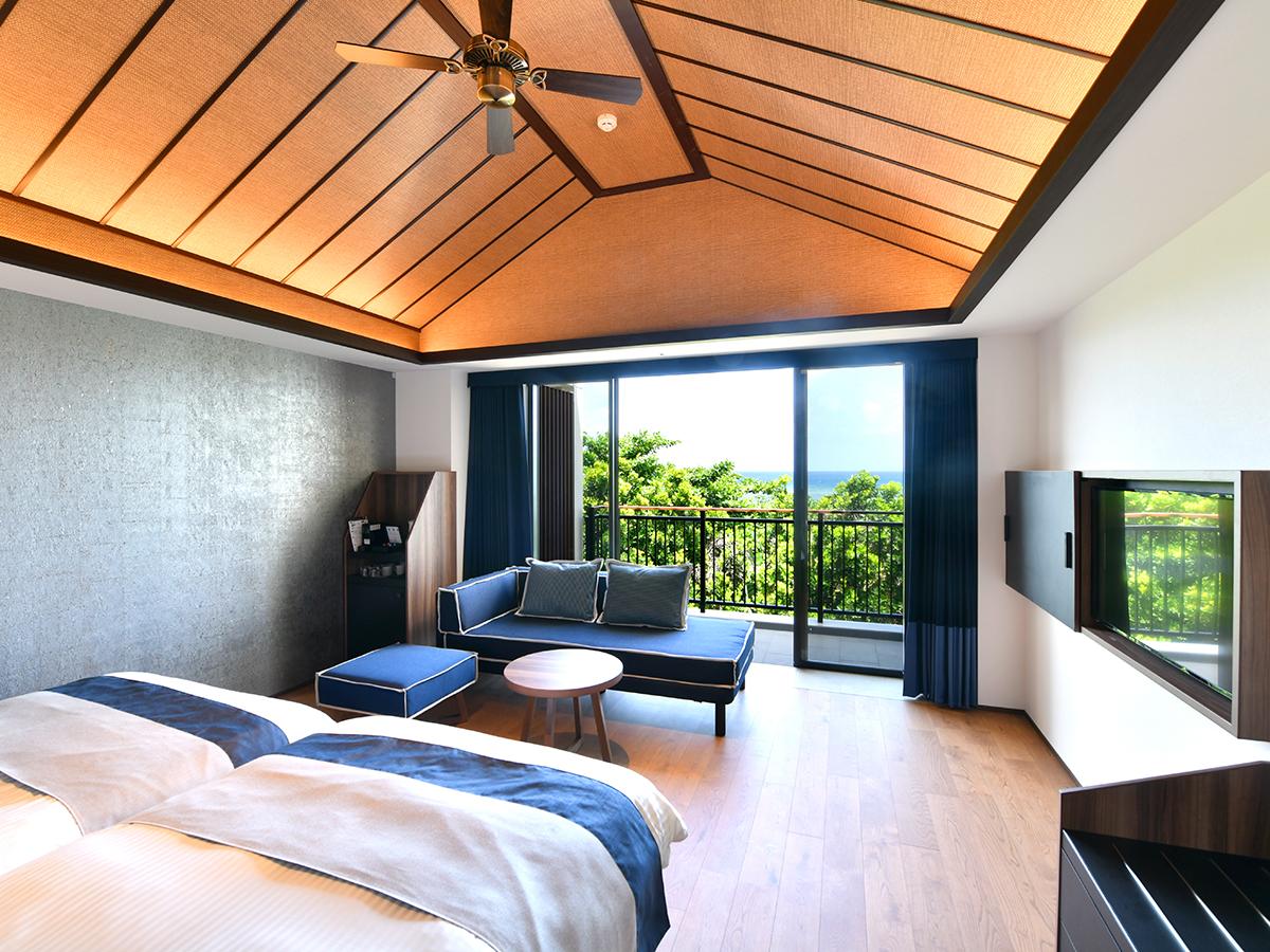 フサキビーチリゾート ホテル&ヴィラズ / ノースウイング デラックスオーシャンビュー【禁煙】