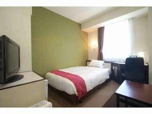 福岡サンパレス ホテル&ホール / シングルルーム(12㎡ ベッド幅120cm)