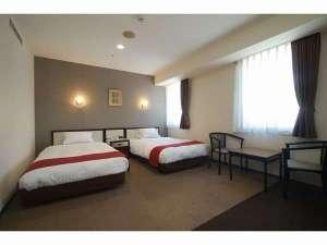 福岡サンパレス ホテル&ホール / スタンダードツイン(21㎡、ベッド幅120cm×2台)