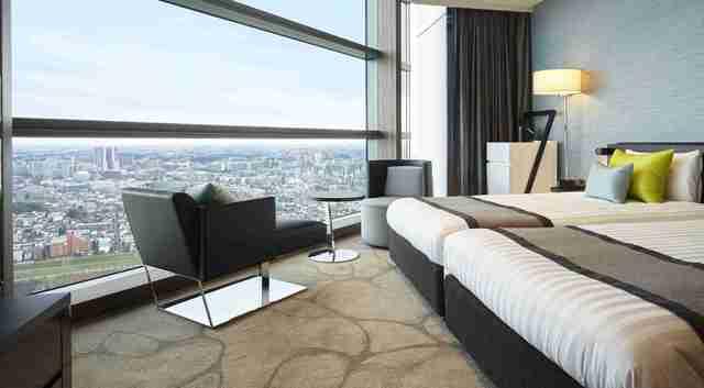 二子玉川エクセルホテル東急 / <禁煙>コーナーツイン[36.8~37.1米平・28階以上]