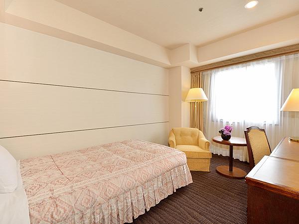 グランドホテル浜松 / ◆シングルルーム◆喫煙(20.9平米)