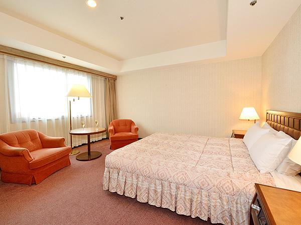 グランドホテル浜松 / ◆デラックスダブルルーム◆喫煙(37.5平米)