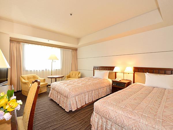 グランドホテル浜松 / ◆ツインルーム◆喫煙(27.9平米)