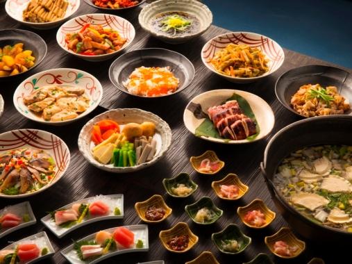 星野リゾート 青森屋 2食付(夕食:バイキング+朝食:バイキング)