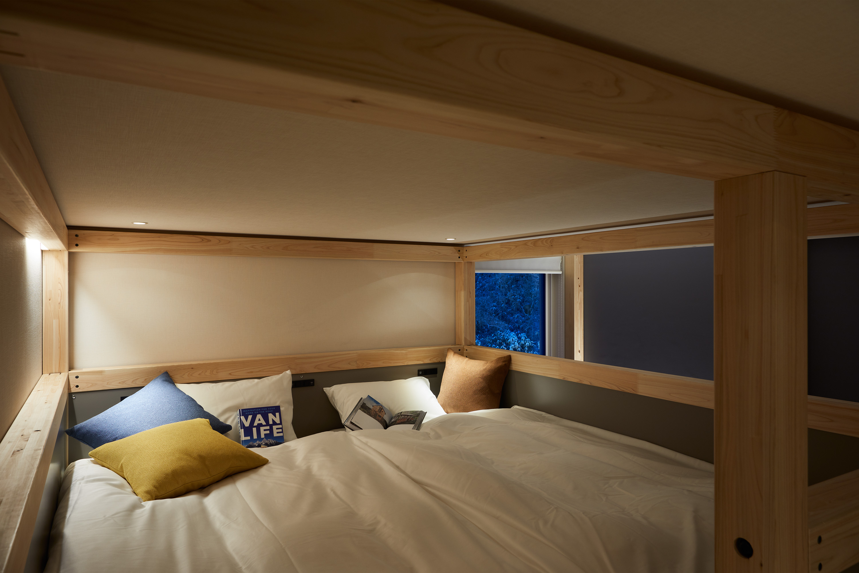 星野リゾート BEB5 軽井沢 YAGURA Room(定員3名)