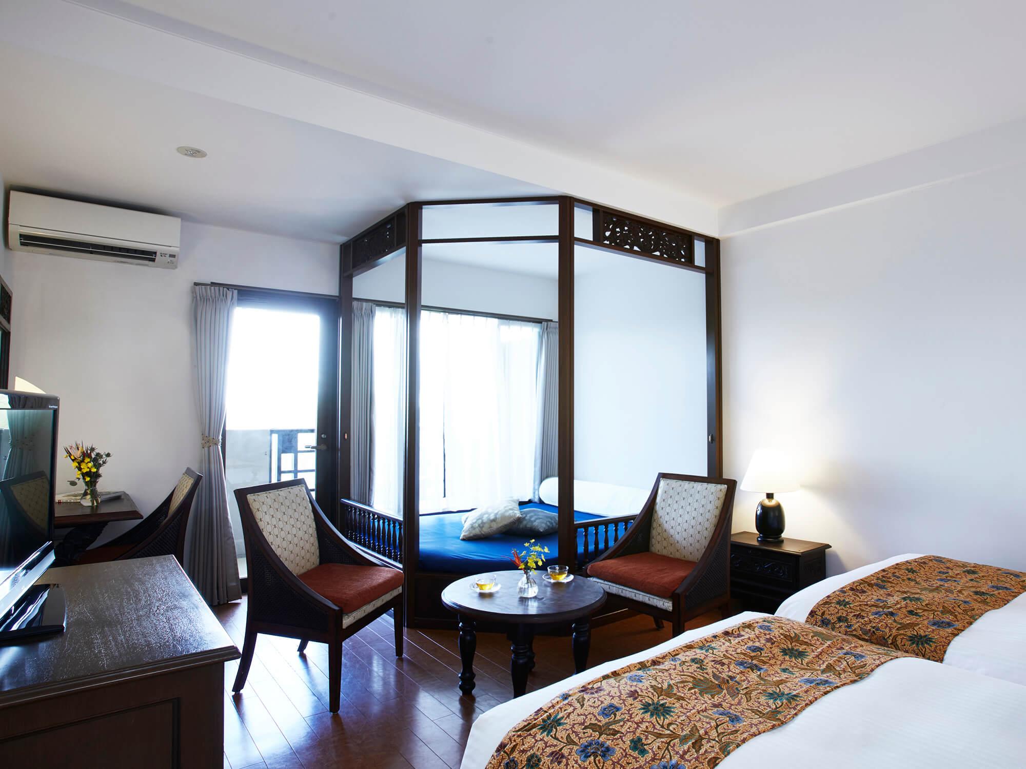 星野リゾート 西表島ホテル / スーペリアツイン(42平米・最大5名利用)