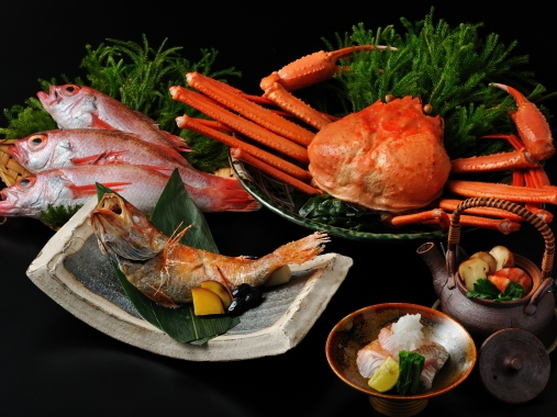 星野リゾート 界 出雲 / 特別会席:のどぐろと紅ずわい蟹