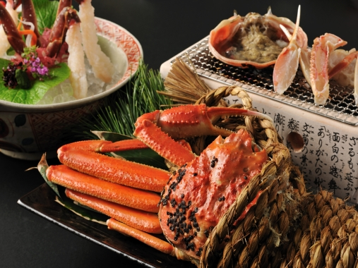 星野リゾート 界 加賀 / 特別会席:活ずわい蟹会席