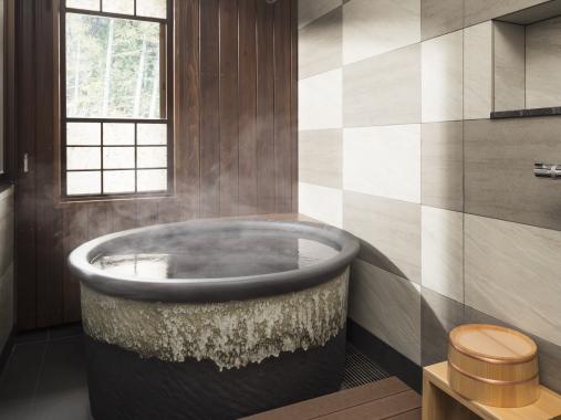 星野リゾート 界 アルプス / 信濃もてなしの間 温泉内風呂付き和室