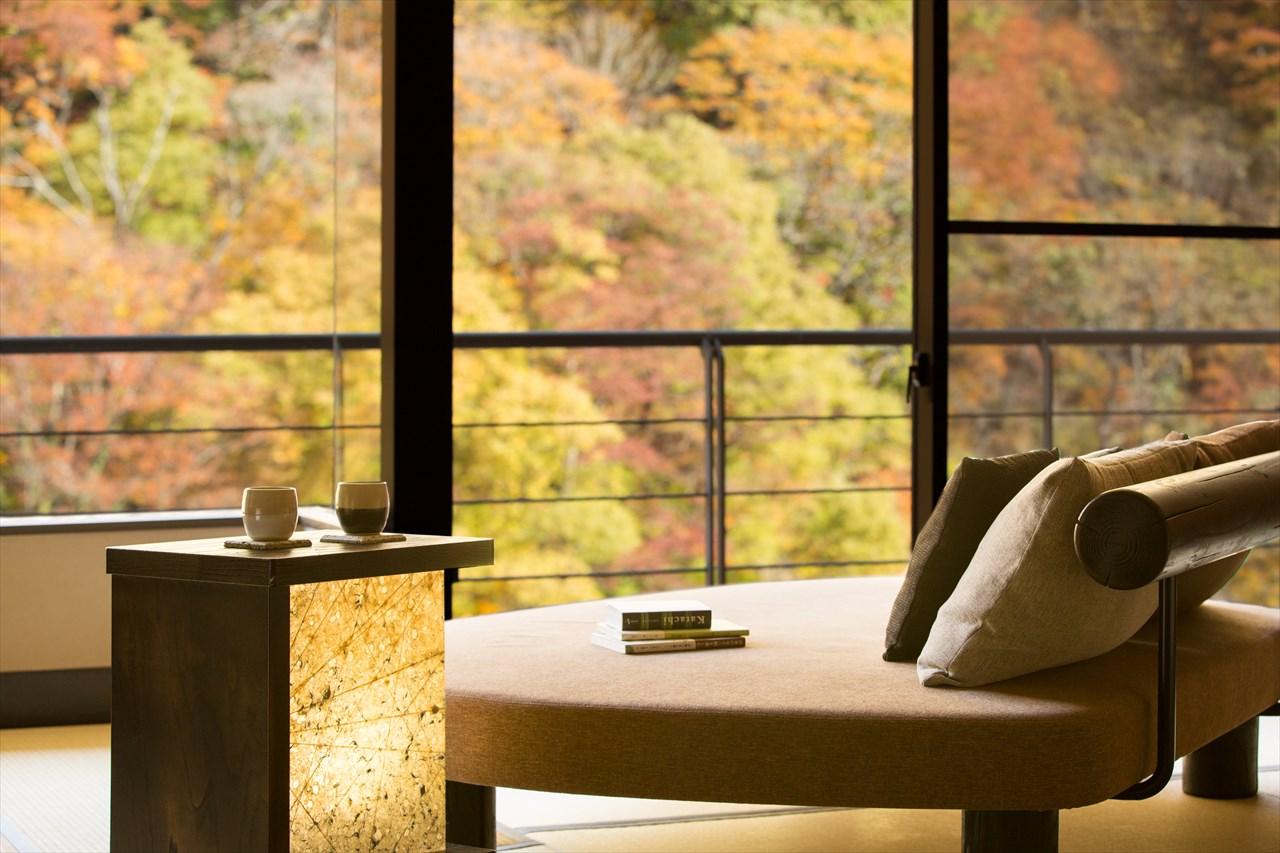 星野リゾート 界 川治 / 渓流側客室和室ベッド13畳 2名定員