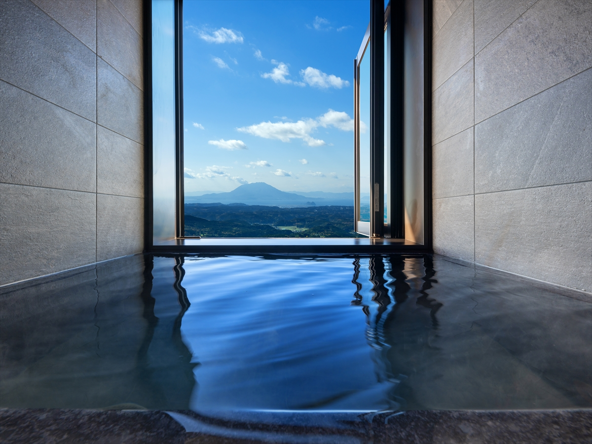 星野リゾート 界 霧島 露天風呂付き和室