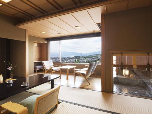 星野リゾート 界 松本 / 露天風呂付き客室