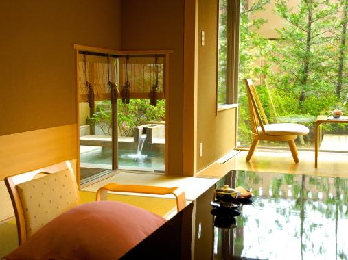 星野リゾート 界 松本 / 露天風呂テラス付き客室