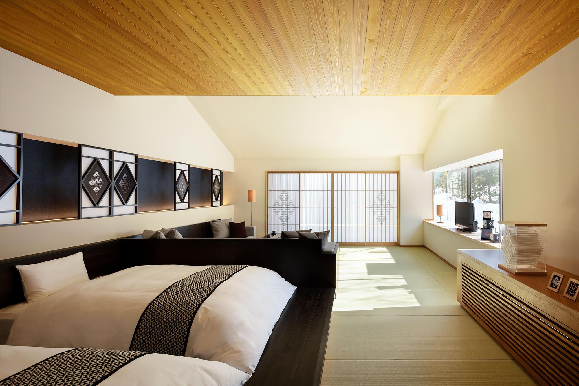 星野リゾート 界 津軽 / 和室 リビングスペース付(定員2名)64㎡