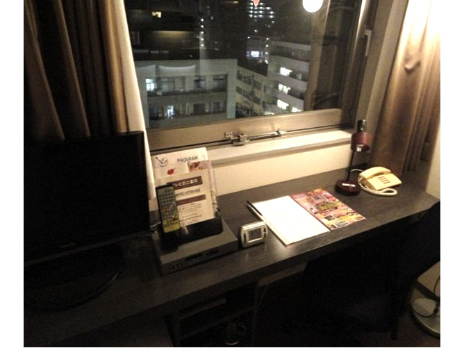 グリーンリッチホテル 西鉄大橋駅前 シングルルーム【喫煙】広さ16㎡ベッド幅130cm
