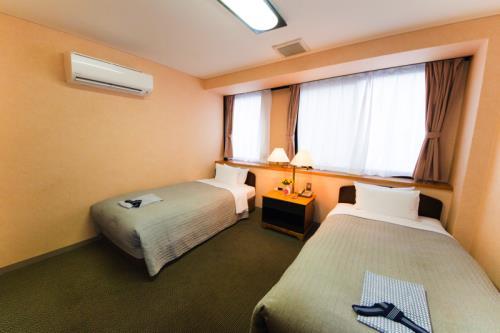 グランパーク ホテルかずさ / 【喫煙】ツインルーム/無料Wi-Fi/1F大浴場あり