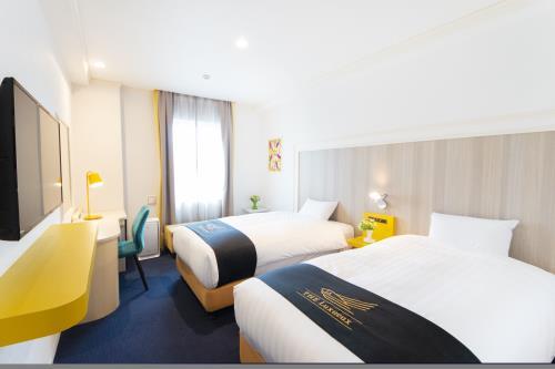 グランパークホテル ザ・ルクソー南柏 / 【禁煙】スタンダードツインルーム/20平米/ベッド1100サイズ