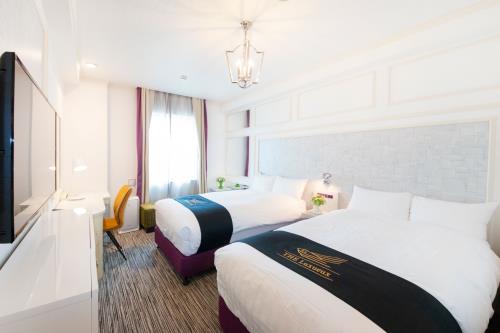 グランパークホテル ザ・ルクソー南柏 / 【禁煙】デラックスツインルーム/20平米/ベッド1100サイズ