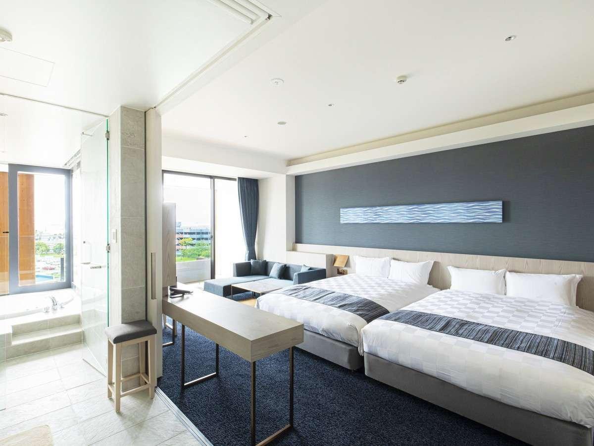 ガーデンテラス福岡ホテル&リゾート 高層階ジャグジー付スイート/40平米