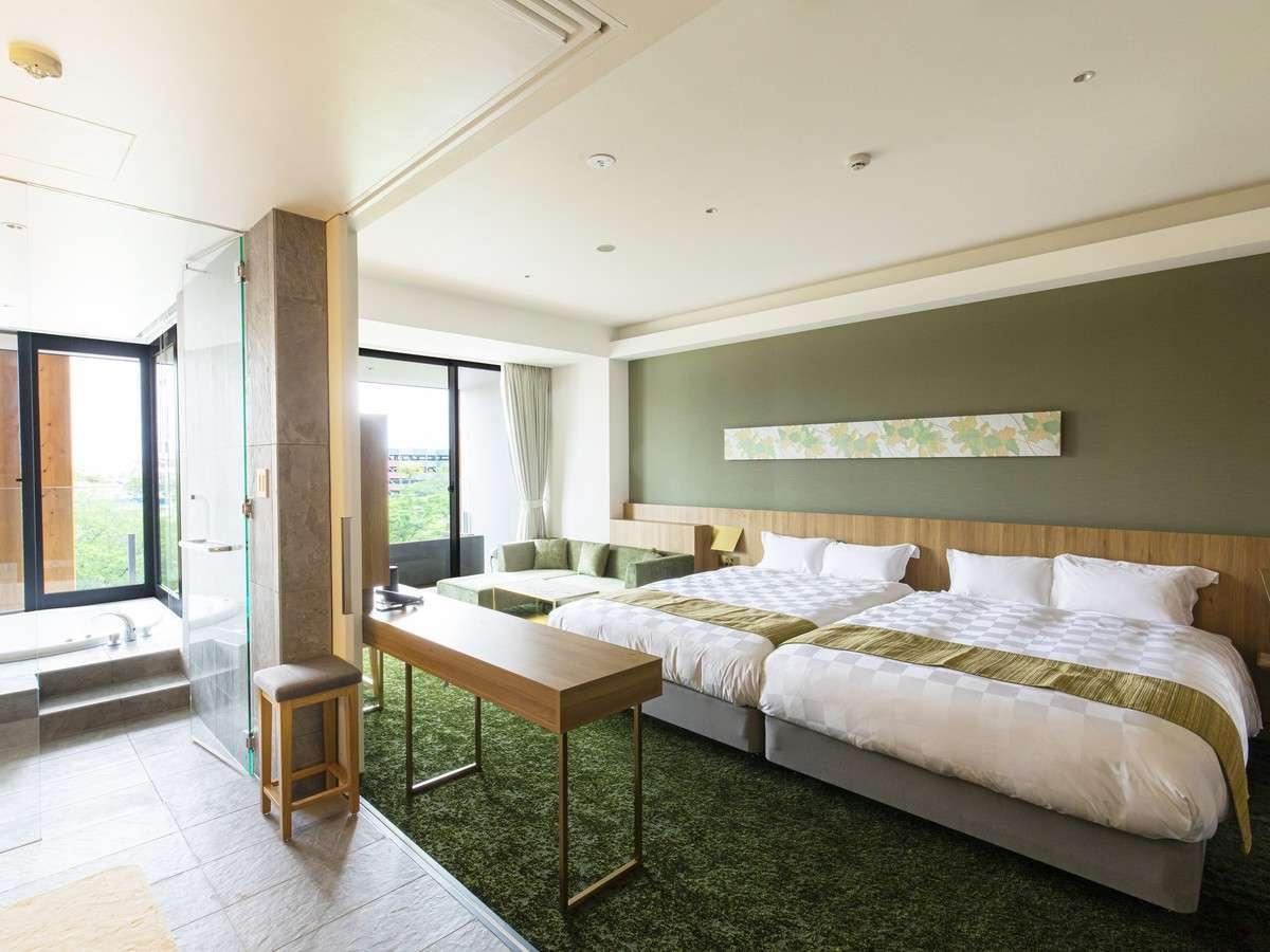 ガーデンテラス福岡ホテル&リゾート ジャグジー付スイート/40平米