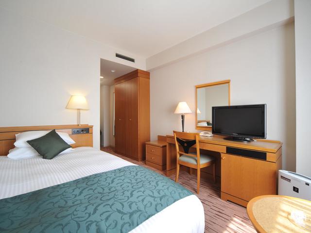 広島エアポートホテル / シングル【140cmベッド・18平米・喫煙】