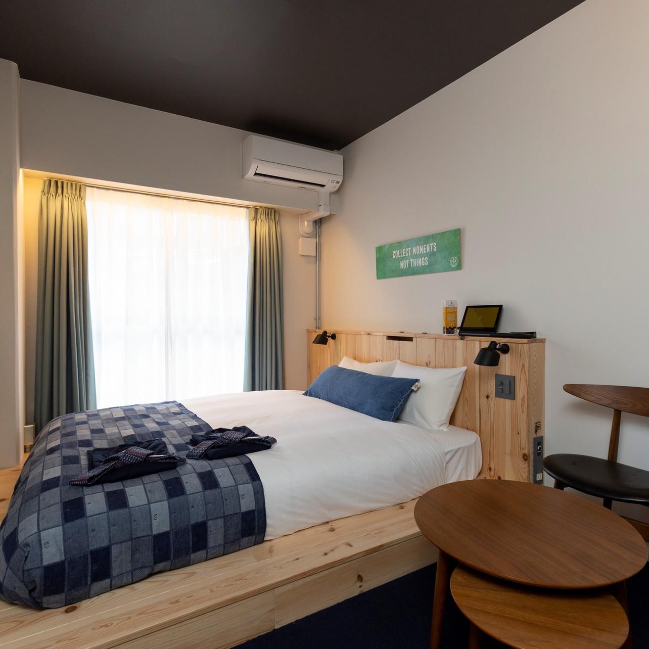 ANCHOR HOTEL(アンカーホテル福山) /  広々シングルルーム18平米★ベッドはクイーンサイズ