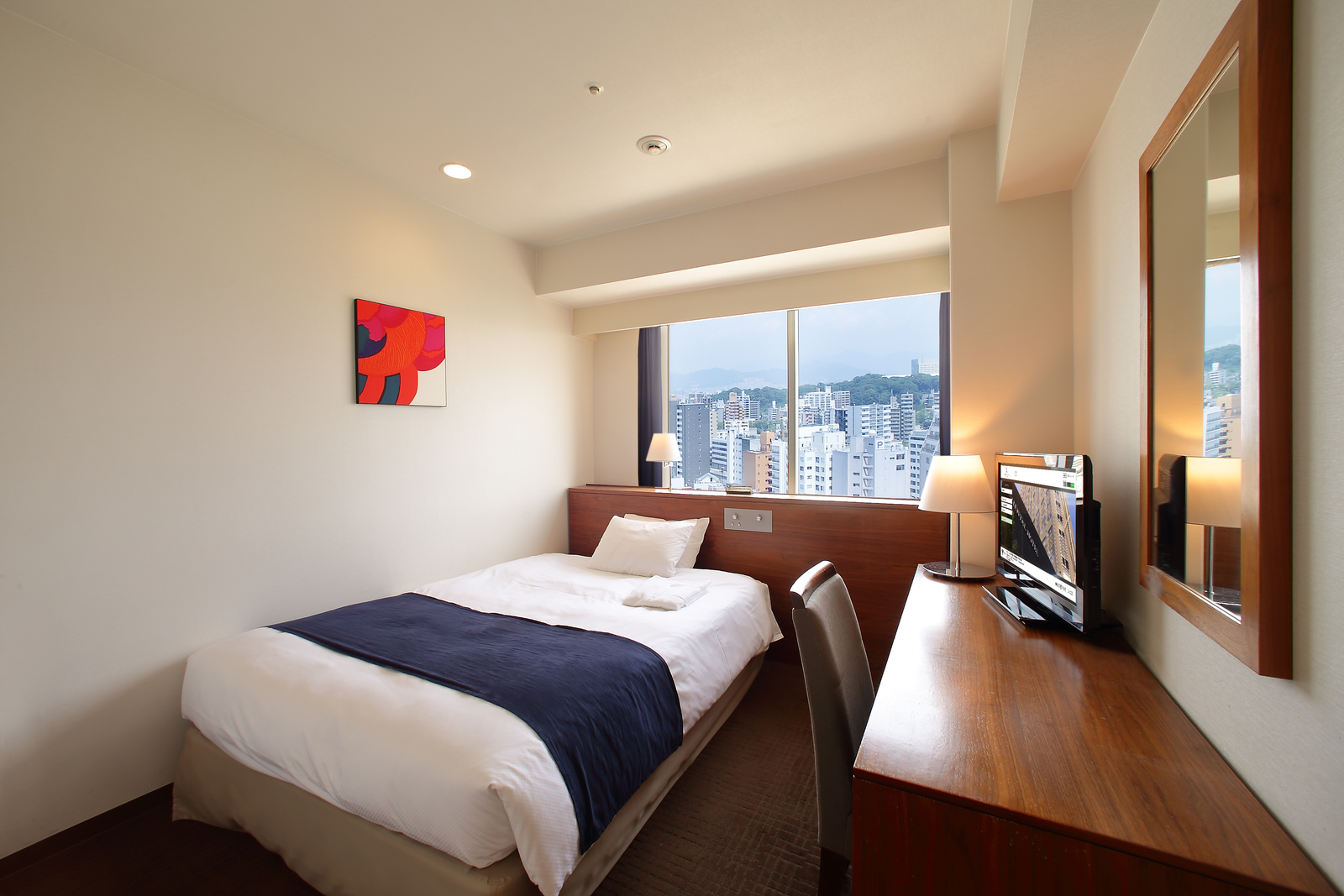 オリエンタルホテル広島 / スタイリッシュスタンダード・セミダブル◆喫煙可◆